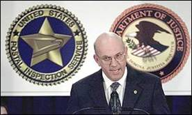 US Chief Postal Inspector Kenneth Weaver